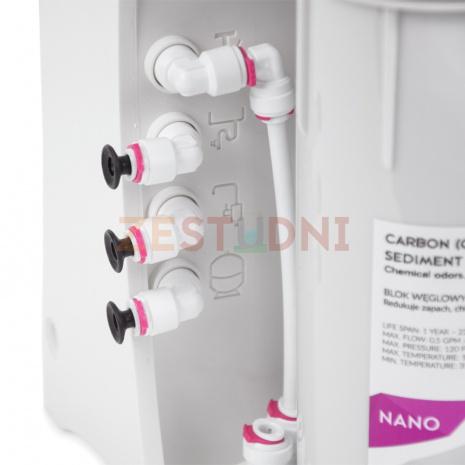 Ecoperla Nano oznaczenia przyłączy